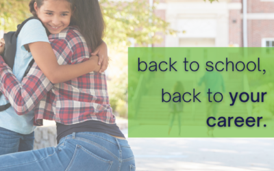 Return to your career as your kids return to school